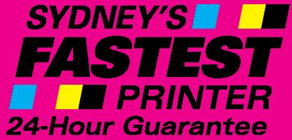 Sydney's Fastest Printer
